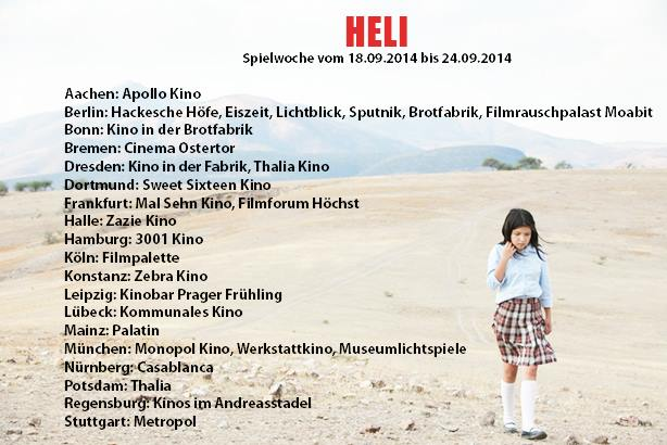 HELI - German release - 1st week